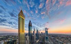 _MG_3410 - Sunset over Dubai Downtown