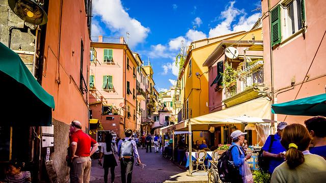 Paseo con helado en Vernazza, Cinque Terre