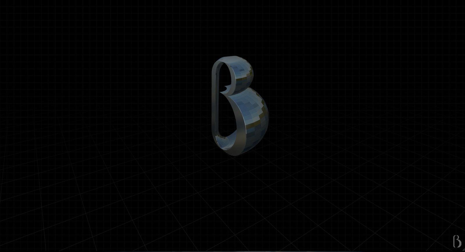 """Gramapoética - letra """"B"""""""