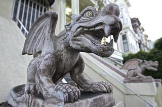 Gargoyle with bling | by screaming_monkey