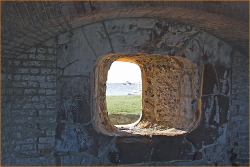 View from Fort Sumter (SC) July 2012   by Ron Cogswell