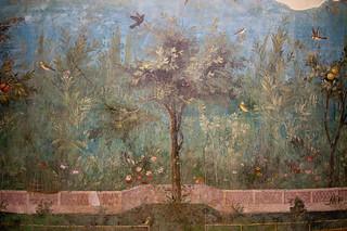 Detail Of A Fresco From The House Of Livia   by Sebastian Niedlich (Grabthar)