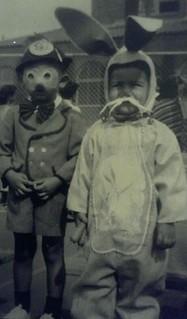 Pinocchio and Bugs Bunny