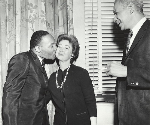Martin Luther King, Jr. kisses Betsy Berry | by UIC Library Digital Collections