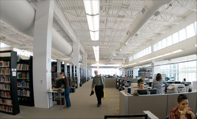 David Wilde at the Fine Arts & Design Library