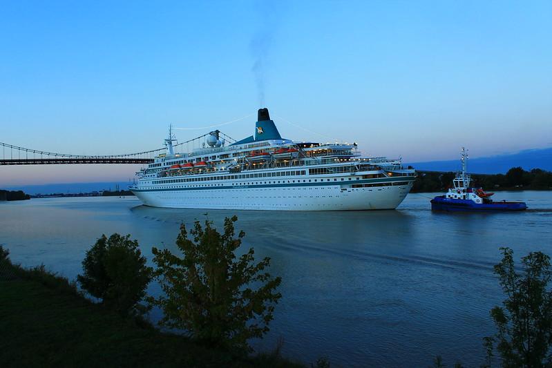 Arrivée du paquebot Albatros à Bordeaux - Port de Bordeaux / Bassens - 30 septembre 2012