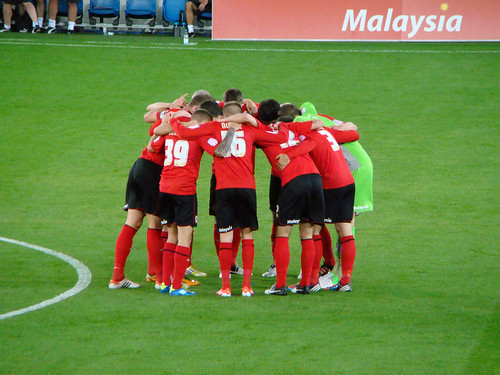 Cardiff City Huddle | by joncandy
