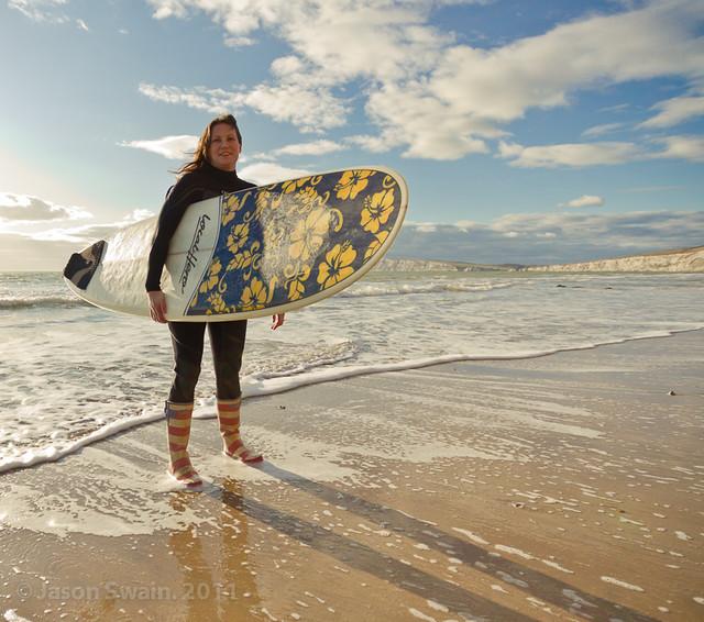 Got Wellies, Will Surf