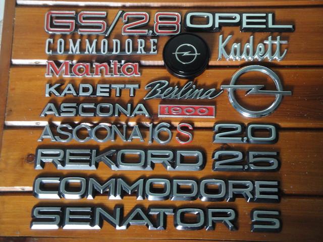 Opel car badges