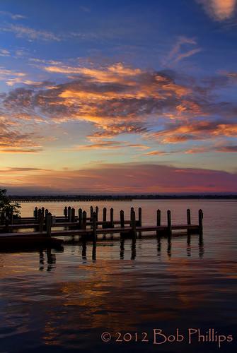 clouds sunrise pier yachtclub capecoral caloosahatcheeriver