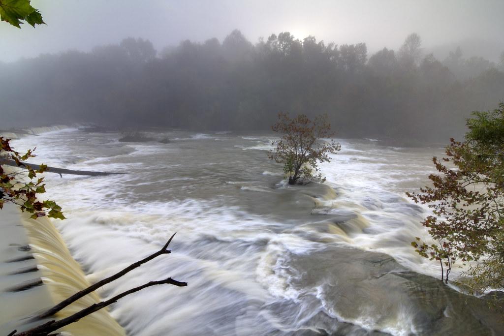 Dam on Calfkiller River 1, White Co, TN