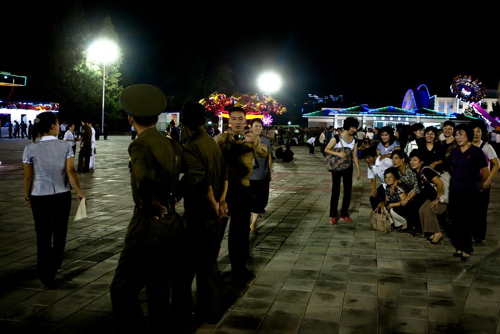 Amusement park in Pyongyang, DPRK (North Korea) | Pyongyang