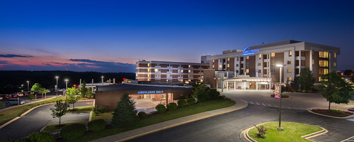carroll hospital outdoor building carrollcounty maryland architecture town bluehour