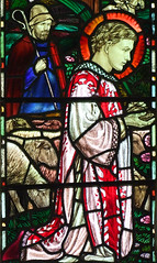 St Philip and a shepherd by Margaret Agnes Rope, 1912