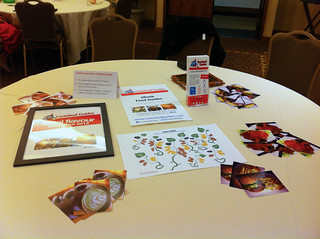 The Tastebud Guides table at IFBC | by jenarrr