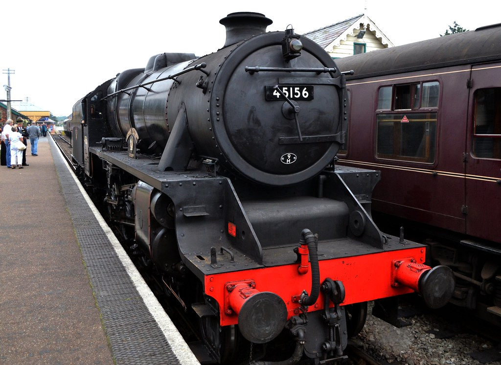PHOTO BR British Railways Steam Locomotive Class LYR5 50660 at Bolton in 1955