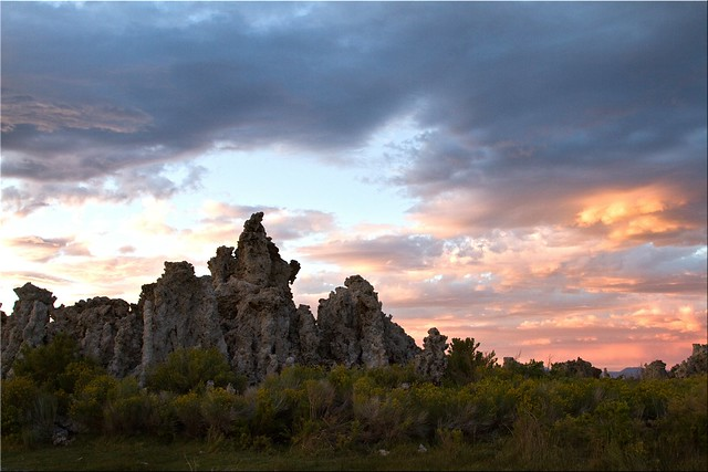 Sunset on the Tufa