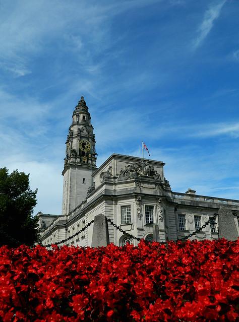 Cardiff-City hall