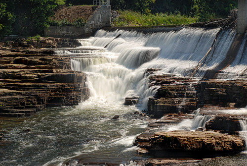 ny newyork waterfall dam falls waterfalls ausable downstream ausableriver keeseville alicefalls vermontdreams
