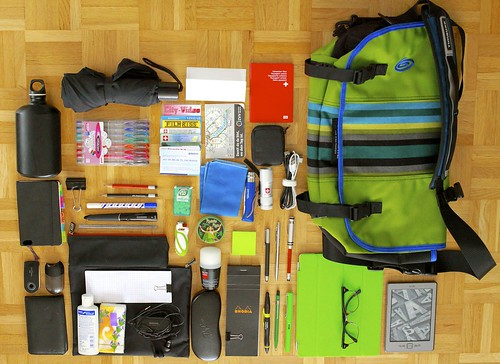 What's in my bag 15.09.2012 - sans MacBook Pro | by Do8y