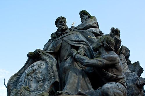 Statues of Charles Bridge | by dorochina