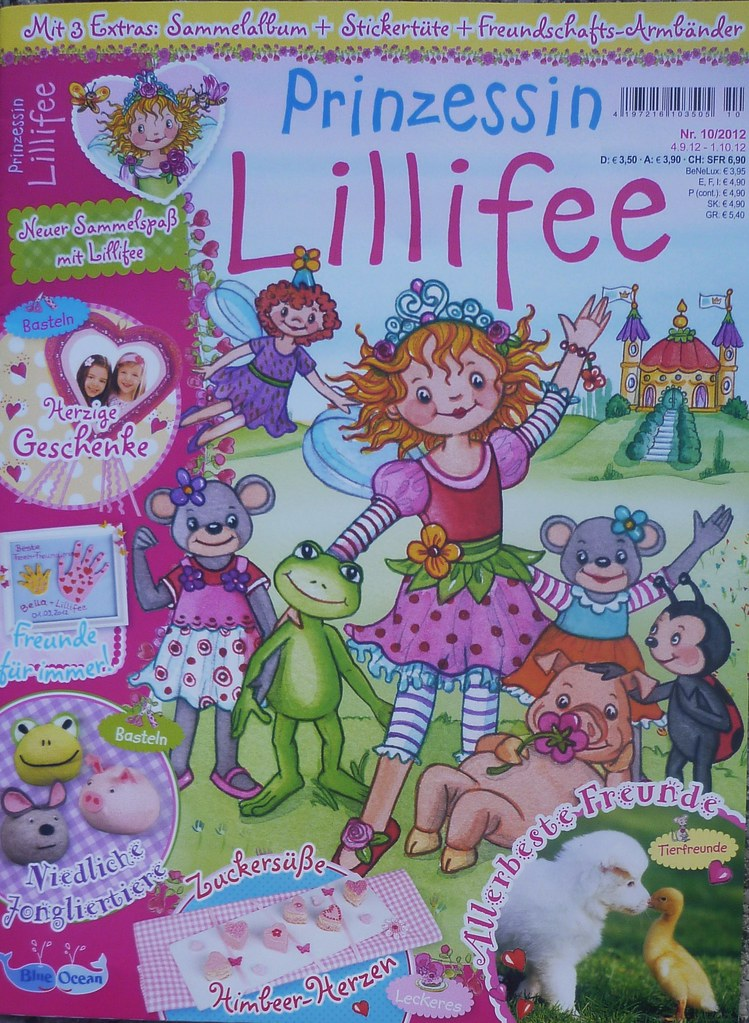 Prinzessin Lillifee Magazin Nr 102012 Mit Pupsi 2012 C