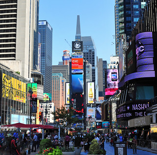 Times Square in New York City | by warriorwoman531