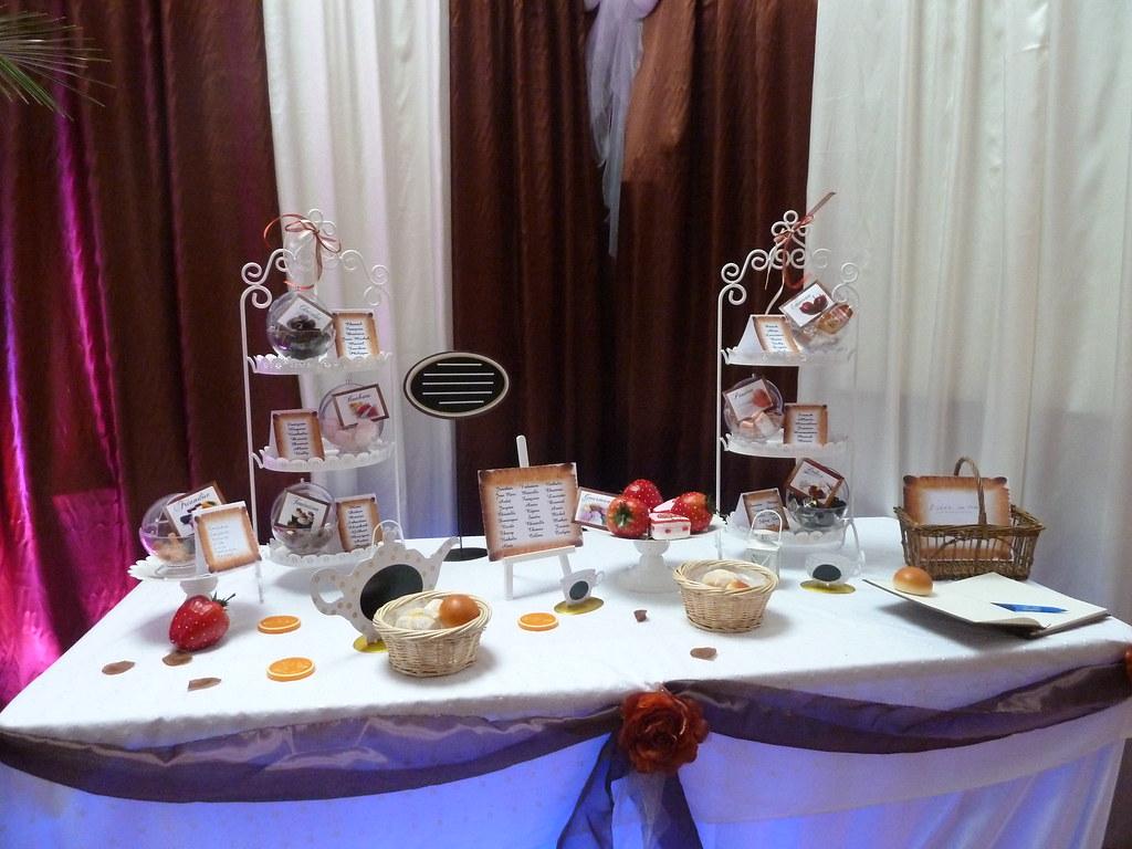plan de table gourmandise mariage