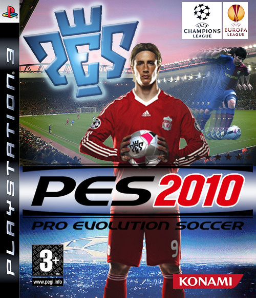 PES 2010 Cover Template | Photoshop | Danny Gauden | Flickr
