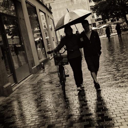 Rain in Copenhagen | by Emil Pakarklis