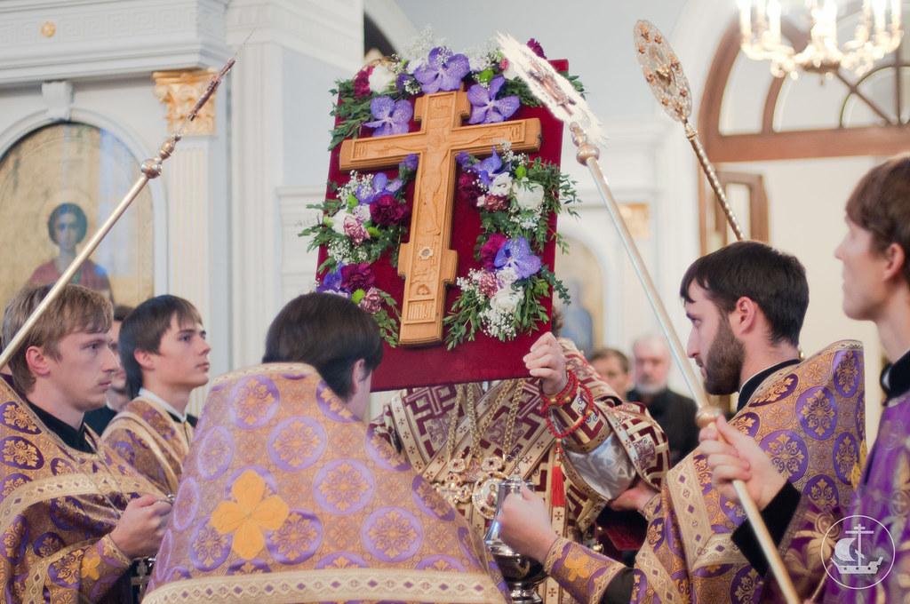 26 сентября 2012, Всенощное бдение накануне праздника Воздвижения Честного и Животворящего Креста Господня