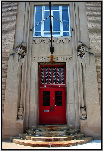 Rochester NY ~ Main Entrance ~ Rochester Fire Department Headquarters and Shops