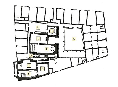 Pompeii - Forum Baths plan | by The Classical World