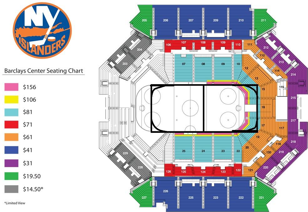 Barclays center seating chart mahhockey flickr