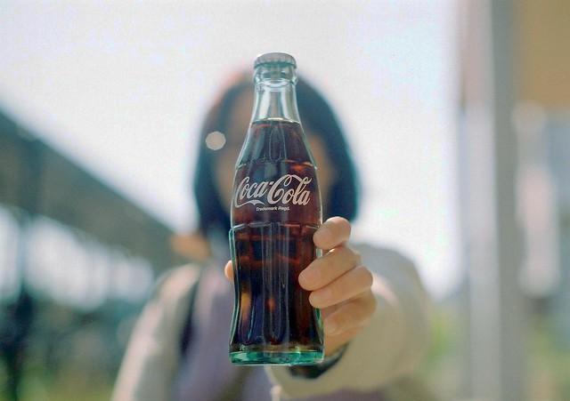 Bottling of nostalgic Coca-Cola
