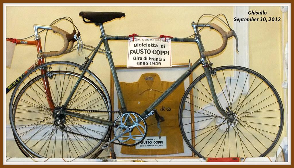 Ghisallo Fausto Coppi Bici E Maglia Gialla Dopo Merckx Flickr