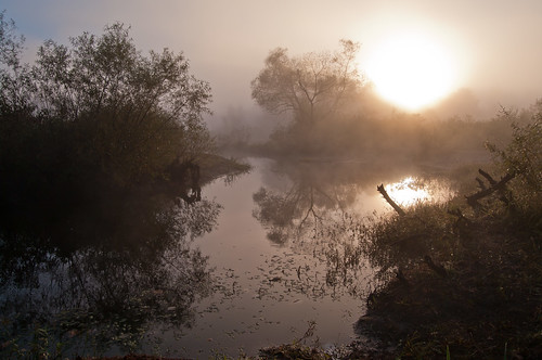autumn sun mist fog sunrise reflections ma day pentax massachusetts silhouettes newengland k7 northreading ipswichriverpark