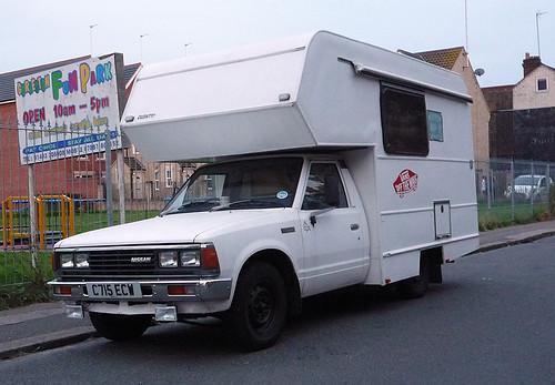 1985 Nissan 1800 Pickup (720) Camper | by Spottedlaurel