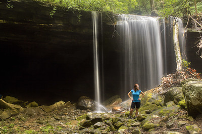 Big Laurel Falls, Leanne Berry, Virgin Falls SNA, White Co, TN