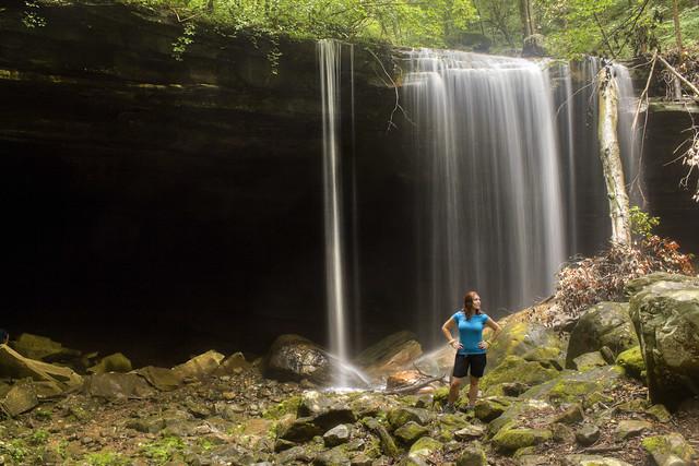 Big Laurel Falls, Leanne Berry, Virgin Falls SNA, White Co, TN