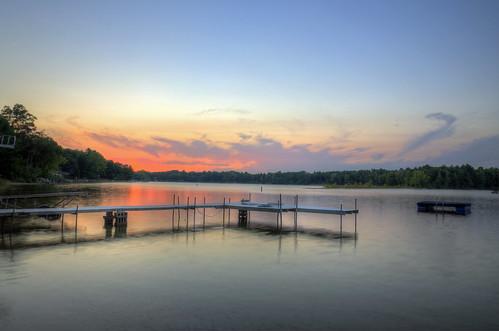 sunset wild lake seascape rose wisconsin landscape fun photography pinelake photomatix waushara jakerost