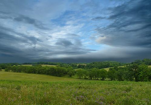 storm clouds stroudpreserve