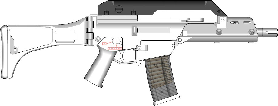Bacon Arms G36 Carrying Handle | Well, I'm restarting with m