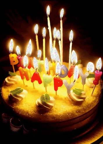 Terrific Happy Birthday Cake Candles Jena Grace Flickr Funny Birthday Cards Online Elaedamsfinfo