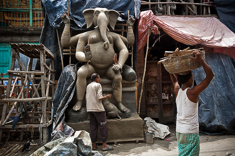 Estatuas Kumartuli