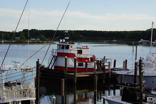 Dennis Point Marina, tugboat