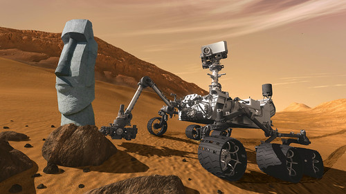 """""""Curiosity Rover Makes Startling Discovery on Mars"""""""