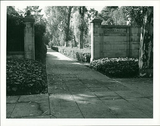 The College Gates in a 1967 photo