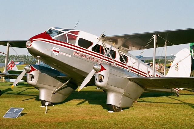 BEA DH89A De Havilland Dragon Rapide