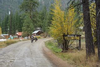 Entering Yellow Pine